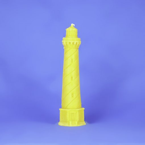 Beeswax Large Lighthouse Candle