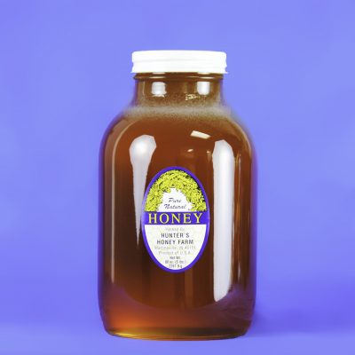 Clover Honey 5 lb glass bottle