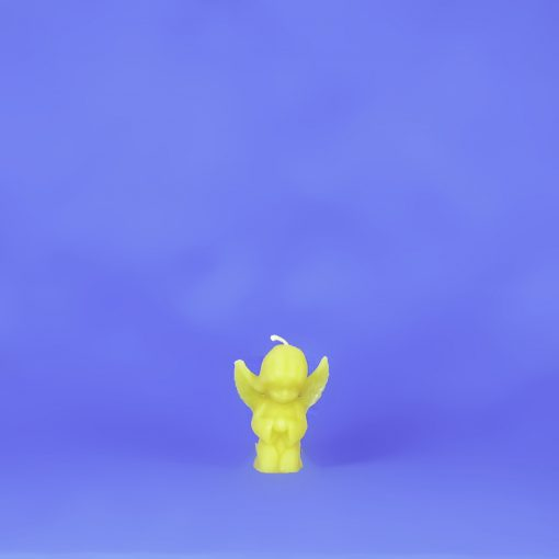Beeswax Small Kneeling Angel Candle
