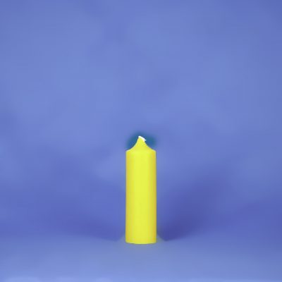"""Beeswax Colonial 1.5"""" x 5"""" Pillar Candle"""