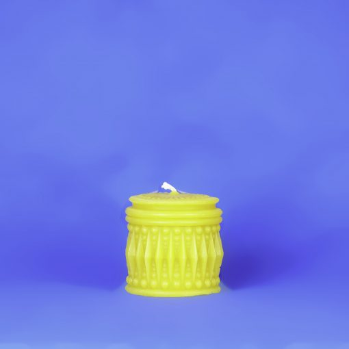 Beeswax Greek Column Pillar Candle