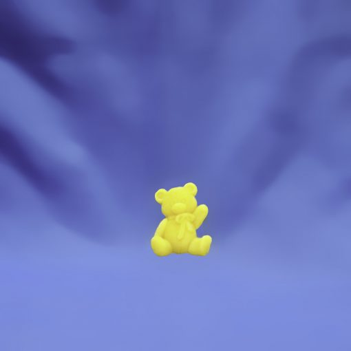 Beeswax Small Sitting Bear Ornament