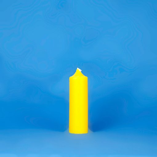 """Beeswax Colonial 1.5"""" x 6"""" Pillar Candle"""