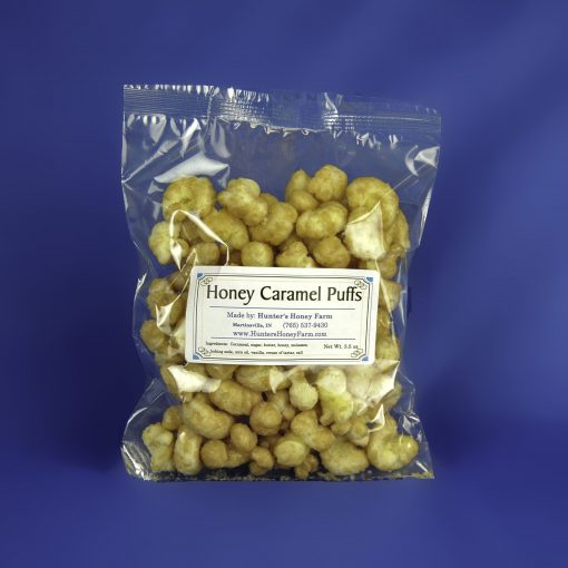 Honey Caramel Puffs