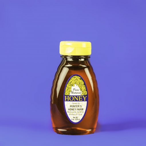 Wildflower Honey 8 oz Bottle