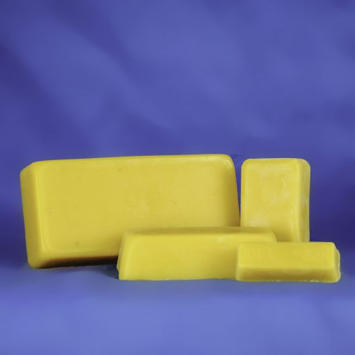 Bulk 100% Pure Beeswax 4 Ounce Block