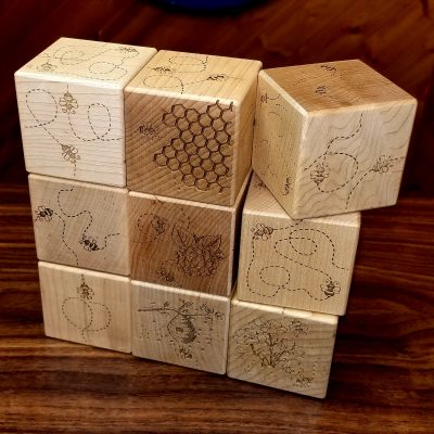 image of busy bee blocks
